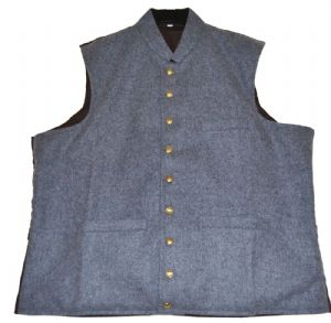 Confederate Officers Waistcoat 9 Button